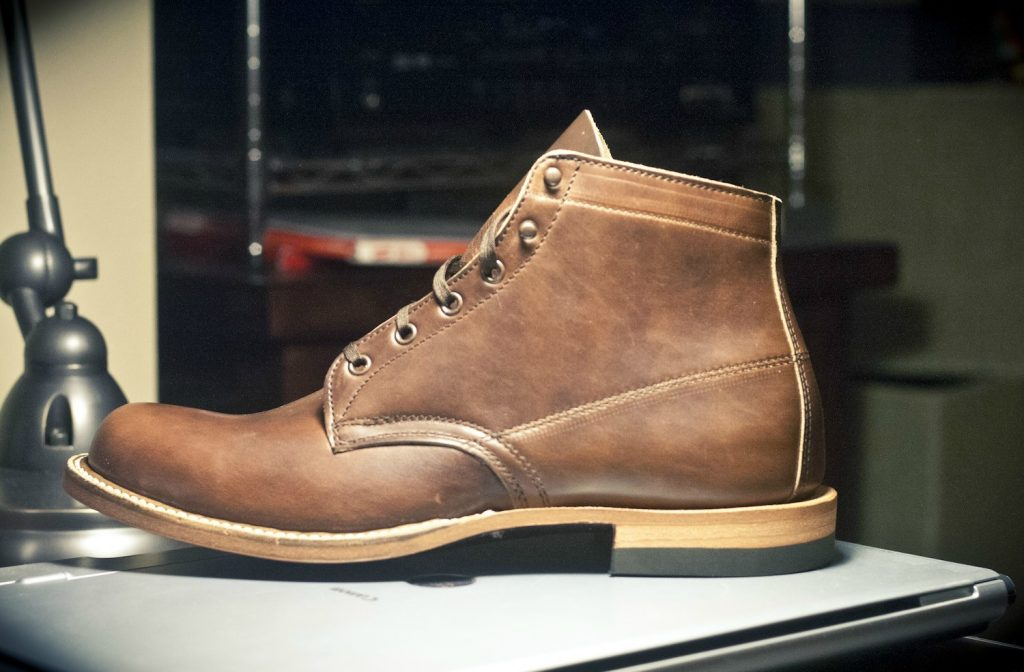 horsehide shoes