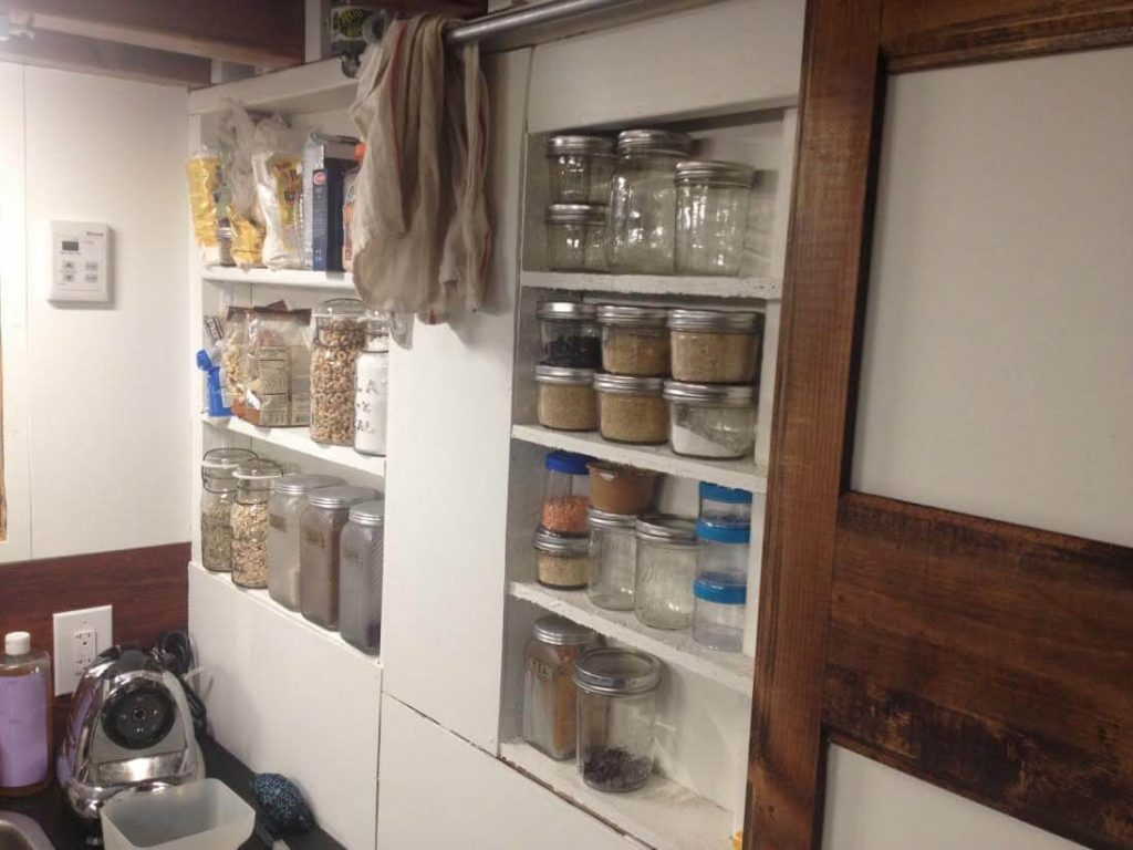 tiny house cupboards