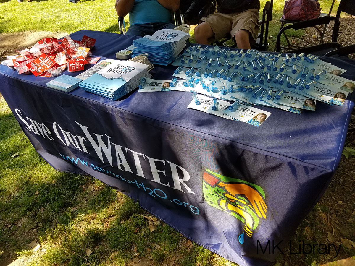 Earth Day 2016 Vendors Save Our Water