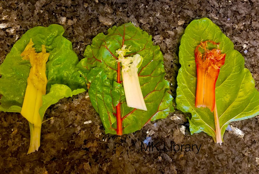 swiss chard taste test