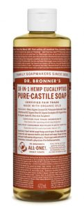 kitchen cleaner hand washing dr bronner