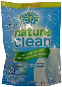 kitchen cleaners dishwasher pods nature clean