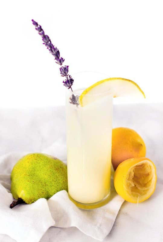 Vodka Pear Lavender Lemonade Recipe