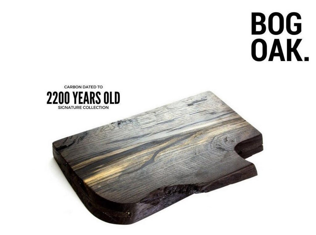 bog oak board wood product