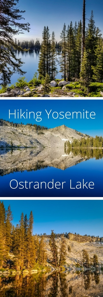 Hiking Yosemite - Ostrander Lake 10 Hiking Info Location: Yosemite National Park near Glacier Point (Google Maps Directions) Parking: $20 National Park entry fee Distance: 12.4 miles out and