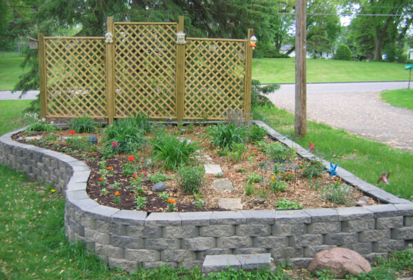 Retaining Wall Block Raised Bed