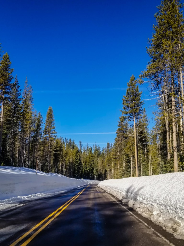 crater lake road trip road