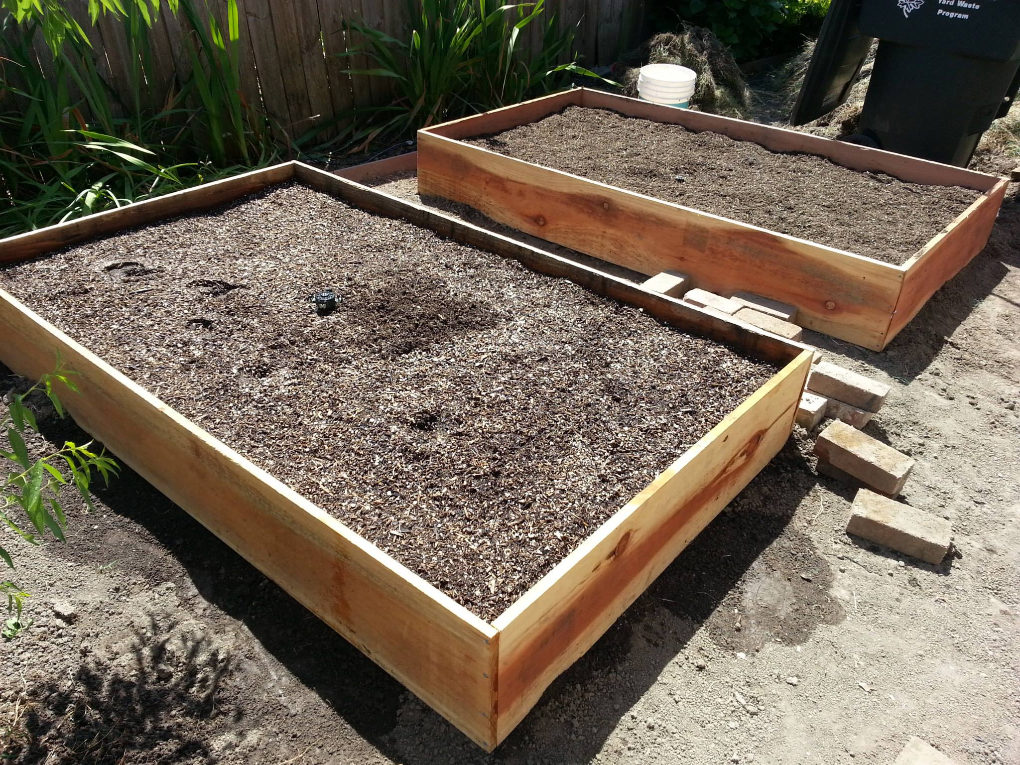 raised garden beds two more