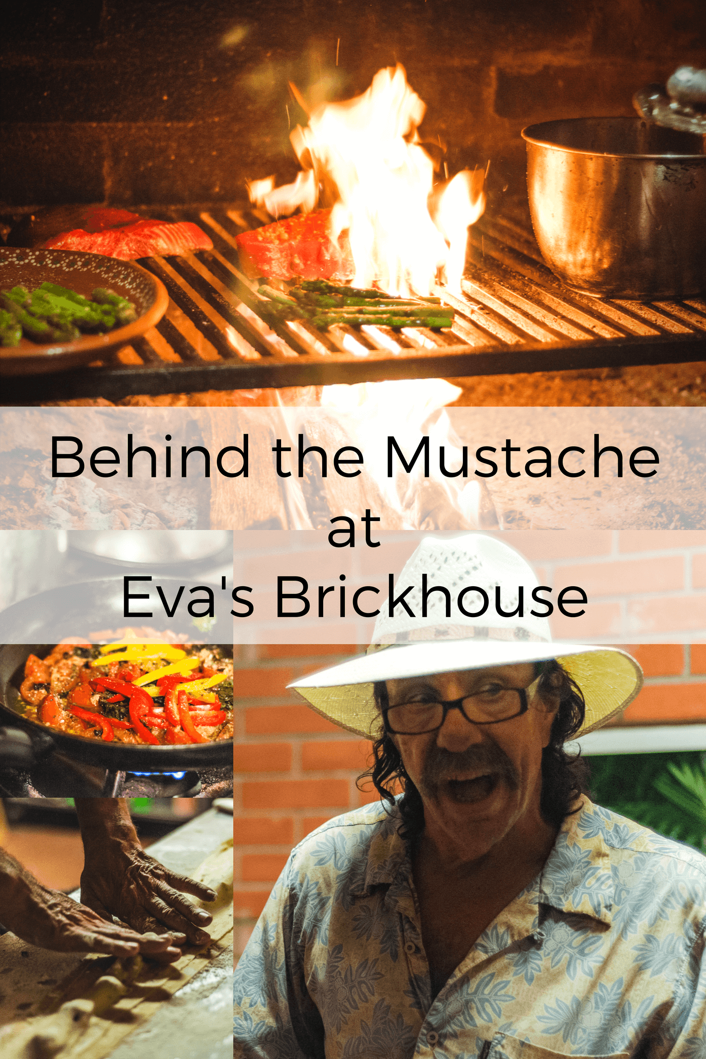 Behind the Mustache at Evas Brickhouse Pinterest