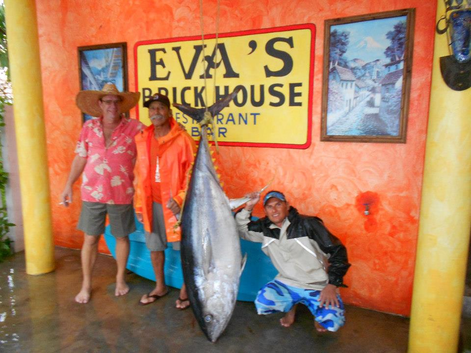 evas brickhouse fresh ahi tuna