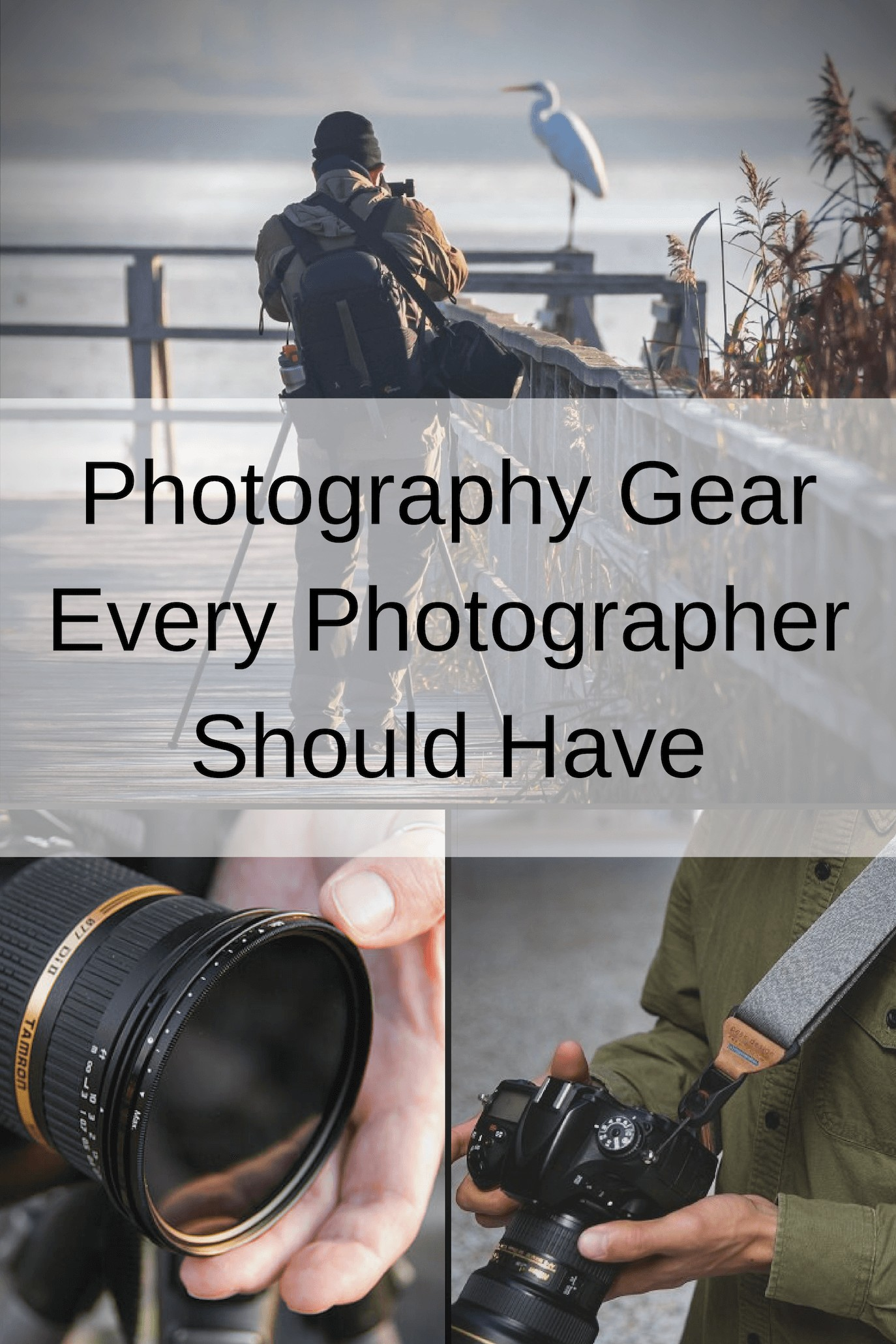 Photography Gear Upgrades Every Photographer Should Have