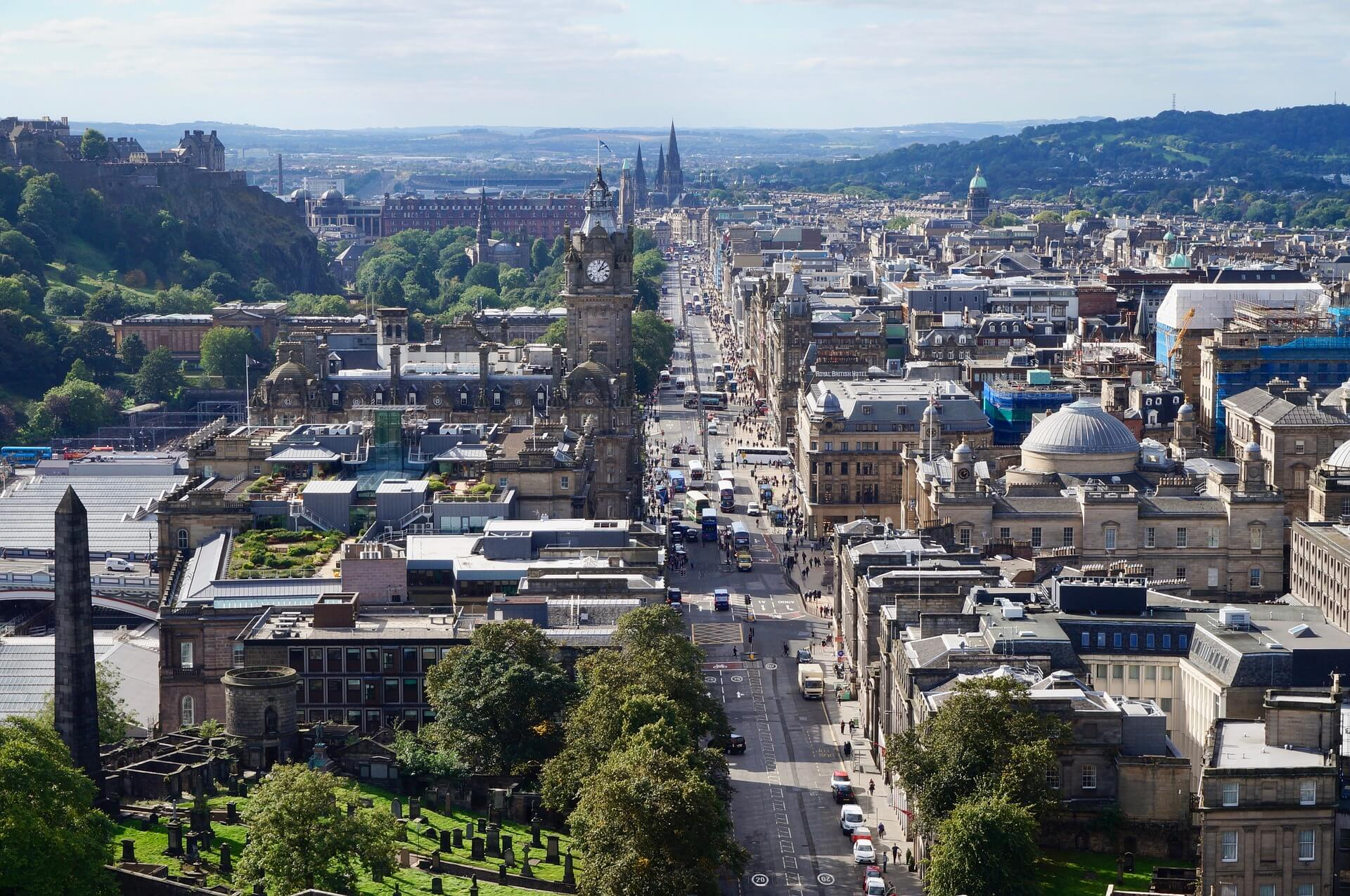 Moving To Edinburgh