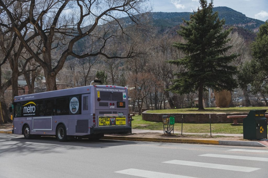 Manitou incline trail free shuttle