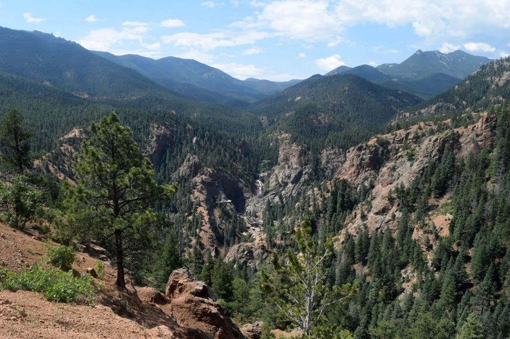 Mount Cutler Trail Views Hiking Colorado Springs