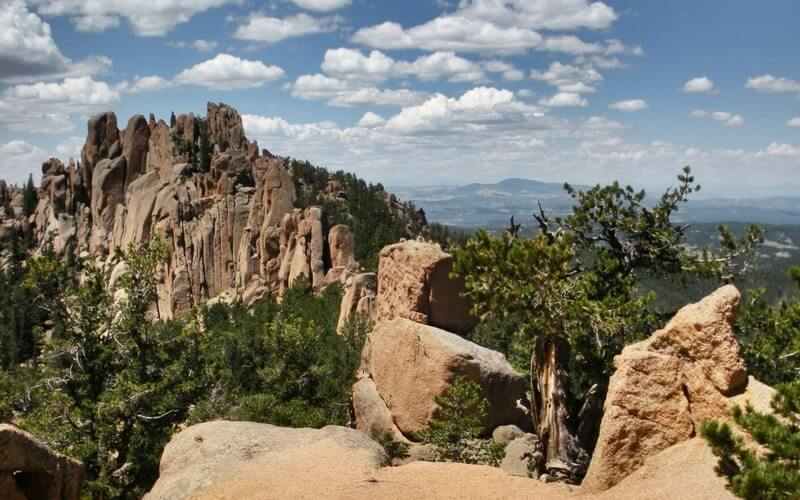 The Crags Trail Hiking Colorado Springs