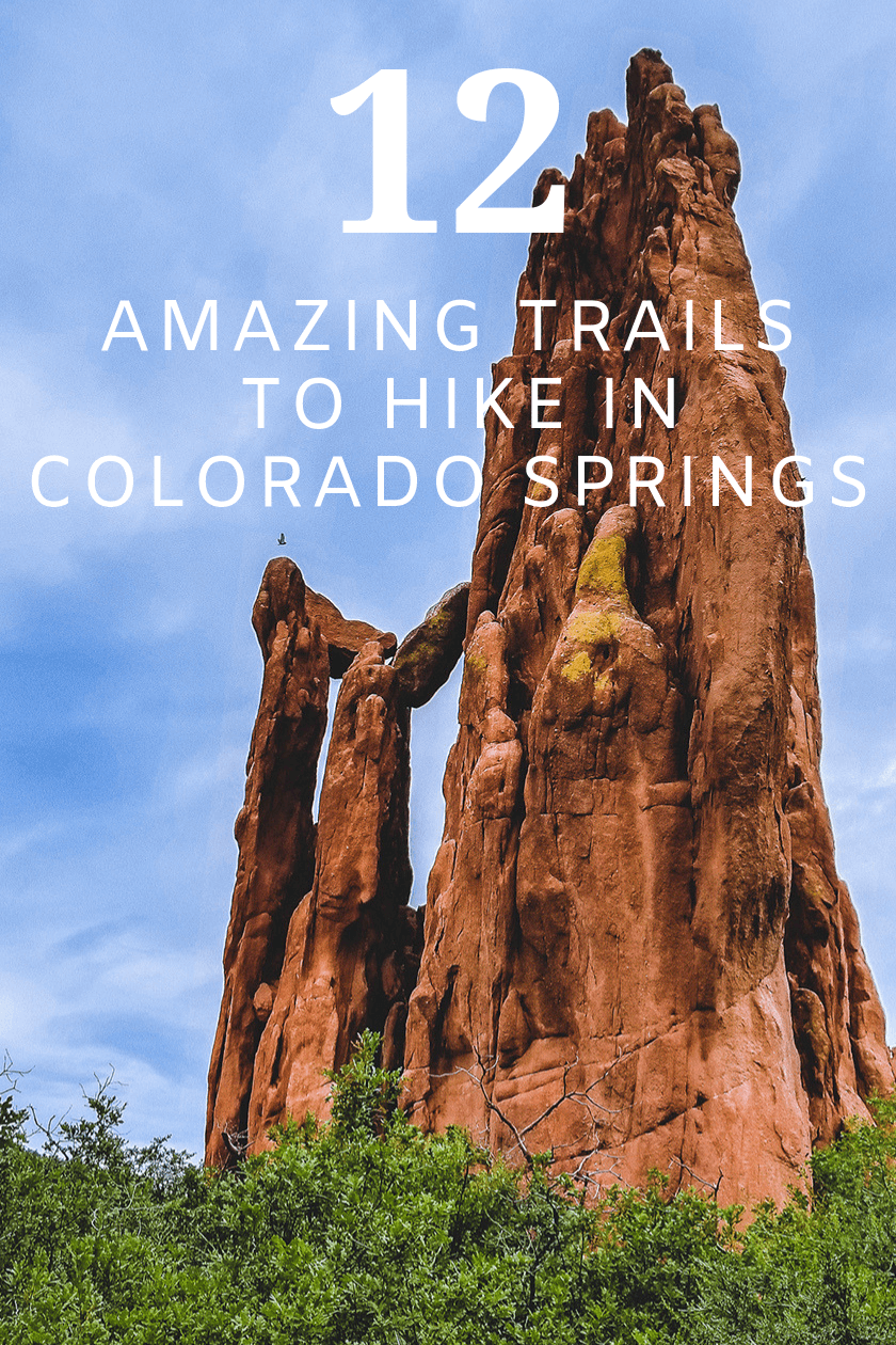 Hiking Colorado Springs 12 Amazing Trails Pinterest
