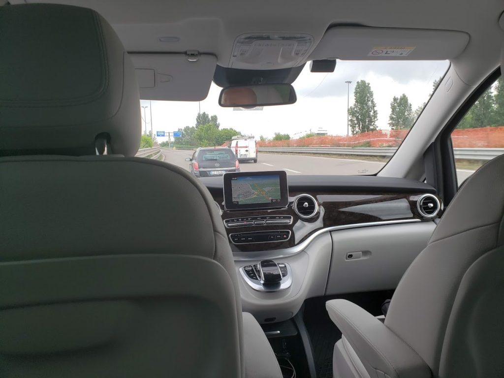 Driver from milan to modena