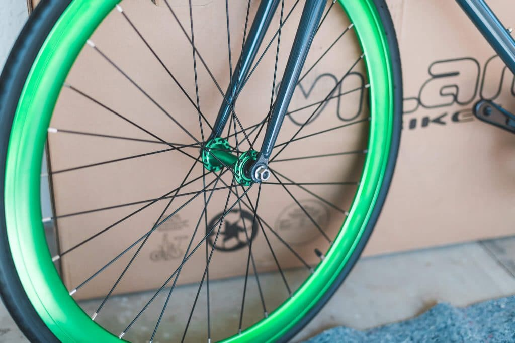 vilano fixed gear bike front wheel