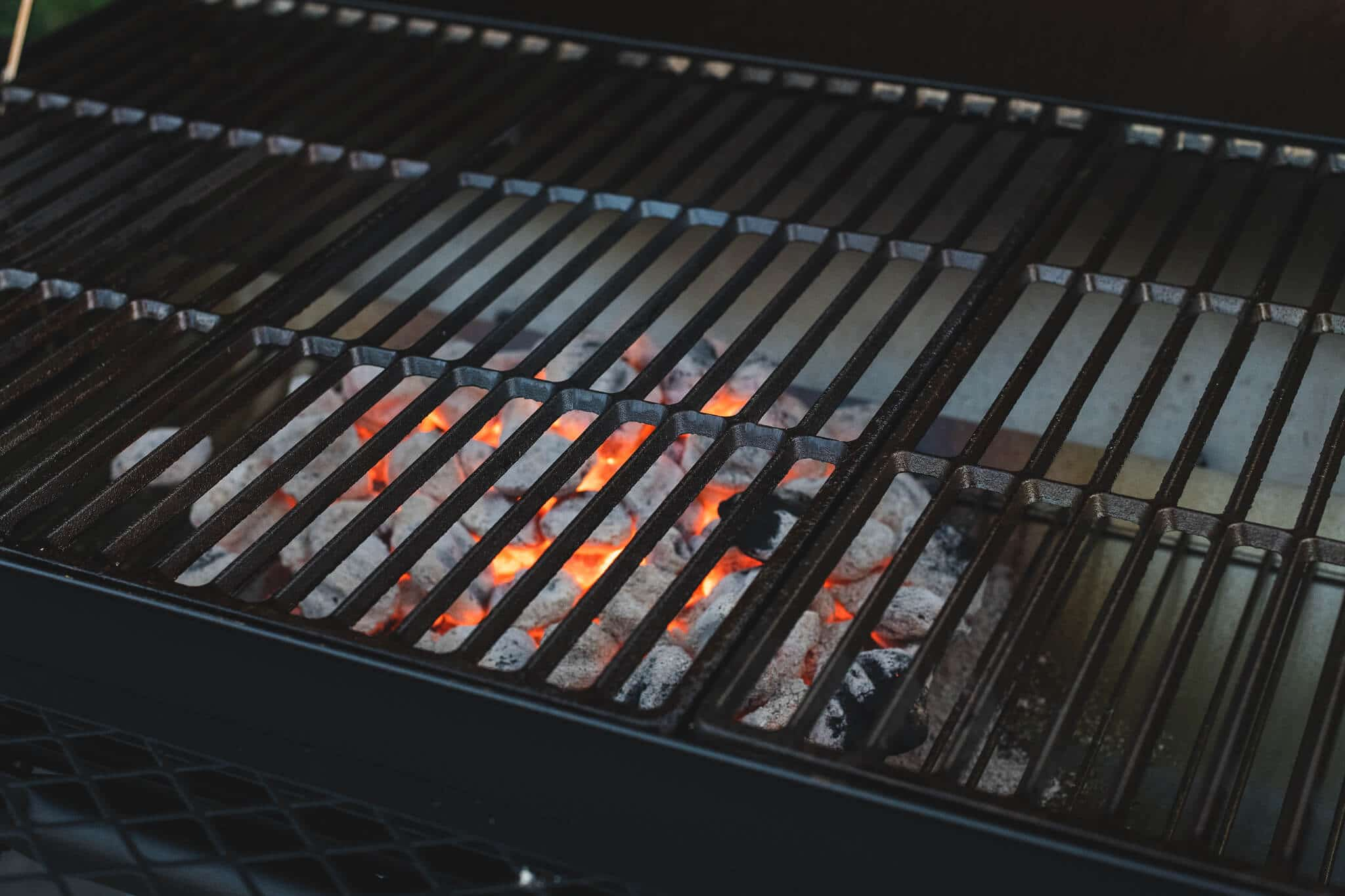 kingsford charcoal grill is ready to bbq