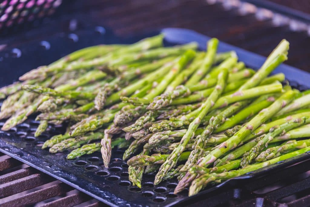 kingsford taste of the game asparagus bbq