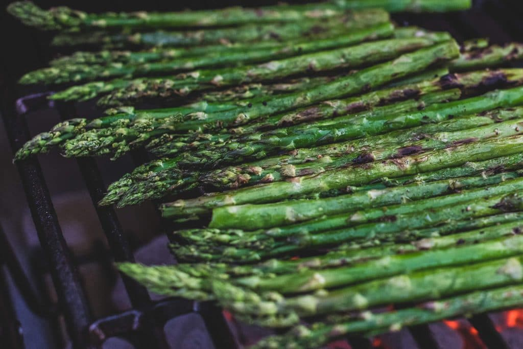 kingsford taste of the game asparagus finished