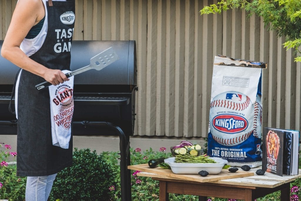 kingsford taste of the game heating up the grill