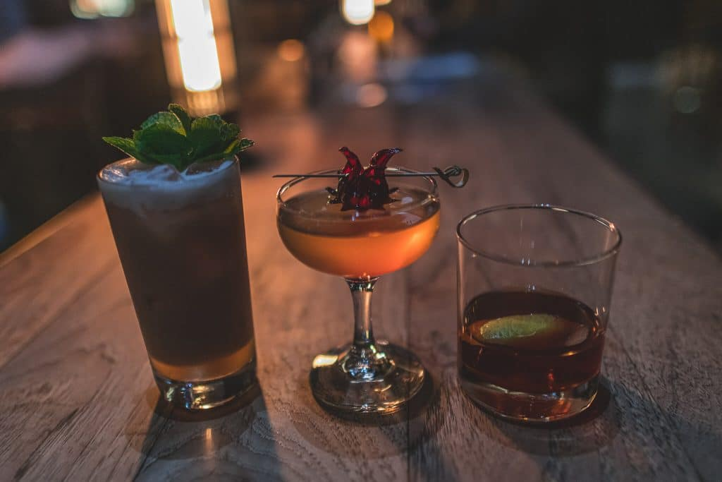 Oakland Food Scene First Edition cocktails