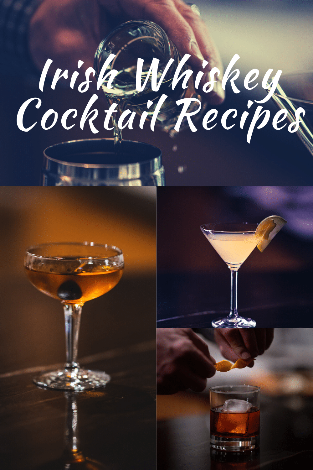 irish whiskey cocktail recipes