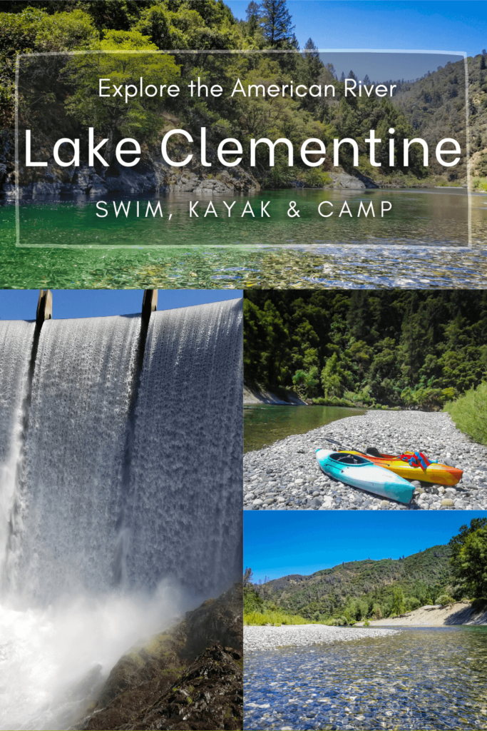 Lake clementine is a hidden gem nestled along the north fork of the american river.