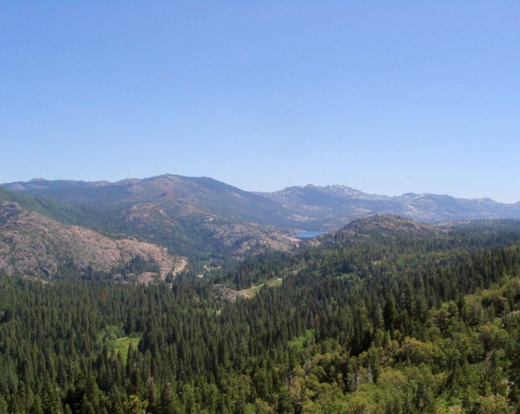 emigrant gap marker view