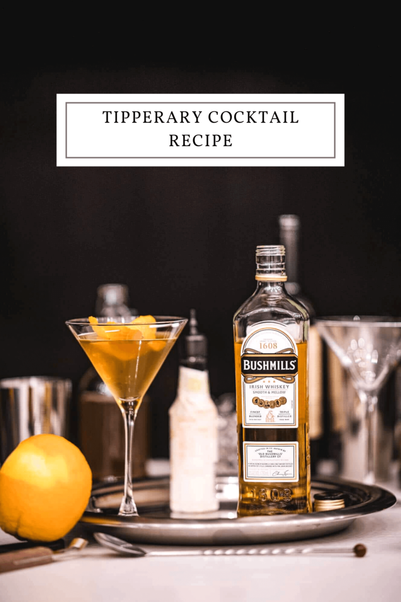 classic Tipperary Cocktail Recipe