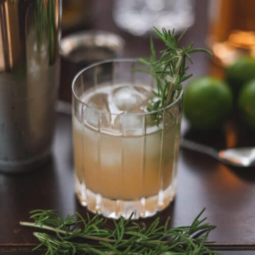 rosemary paloma cocktail featured