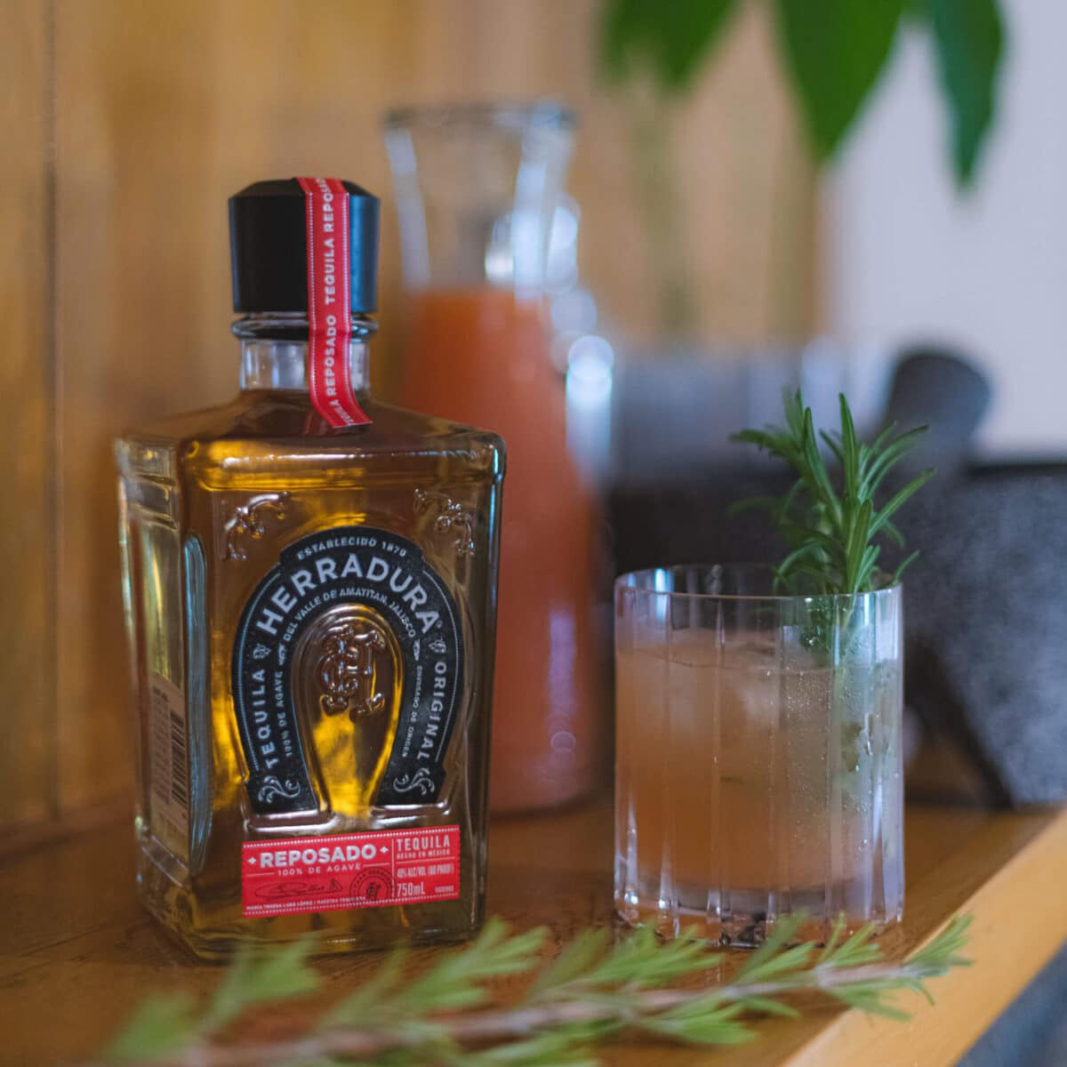 Rosemary Paloma Cocktail Recipe 1 The Rosemary Paloma cocktail brings a savory, earthy twist to the traditional Paloma. Fragrant rosemary alongside the bright citrus flavors of fresh grapefruit juice create a balanced cocktail that is both refreshing and flavorful. The use of Herradura's reposada tequila keeps this drink tied to its roots and pays homage to the land of agave.