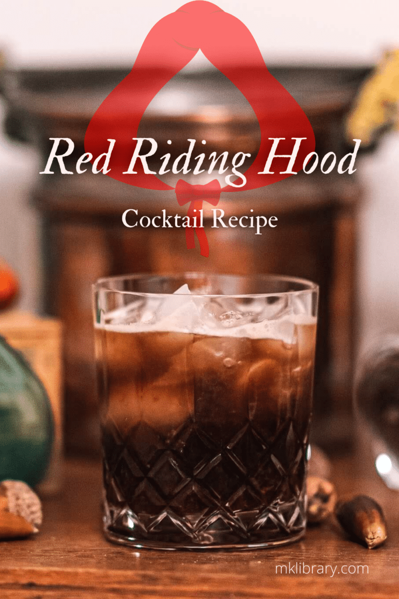 Halloween Cocktail Recipe red riding hood