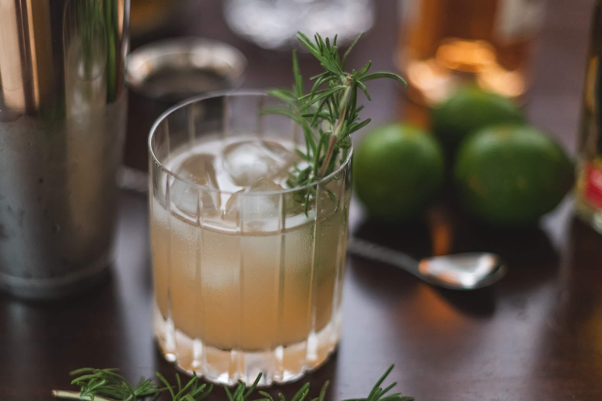 Rosemary paloma cocktail recipe featured