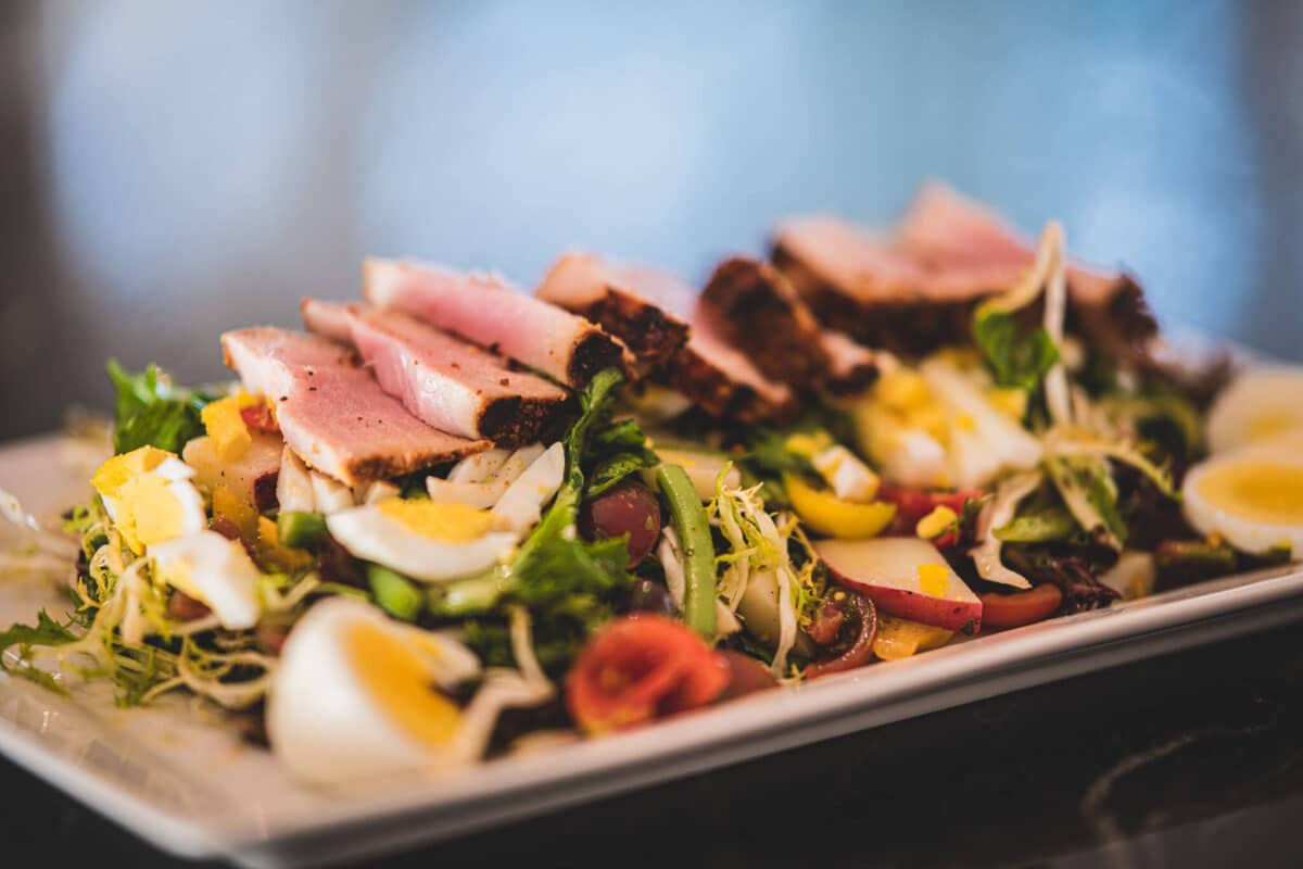 Nicoise Salad with Seared Tuna