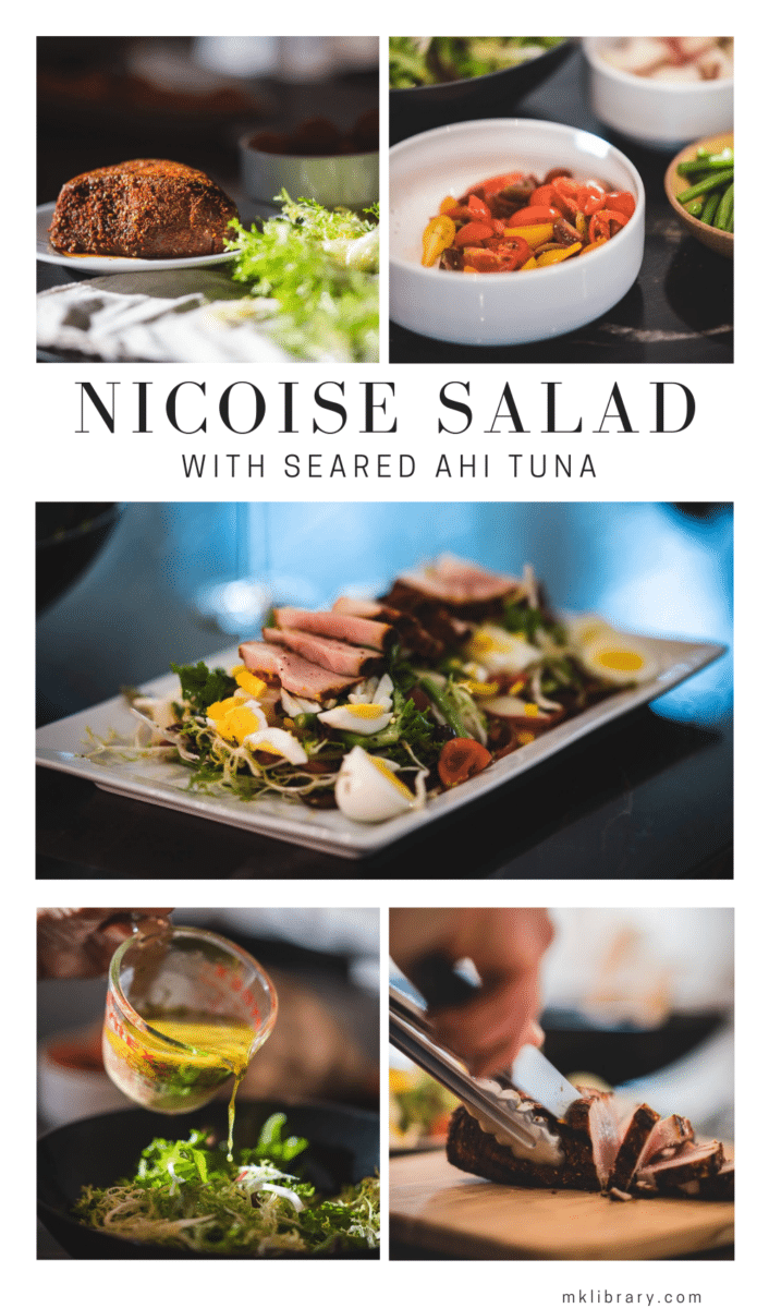 Nicoise Salad with Ahi Tuna Recipe