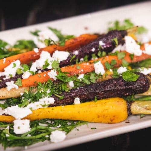 Roasted moroccan carrots 7 these roasted moroccan carrots match their intensity in color with vibrant flavors. Using common moroccan spices, including cinnamon, cumin, ginger, and coriander, this dish will pair nicely with your main entrée in typical mediterranean fashion.
