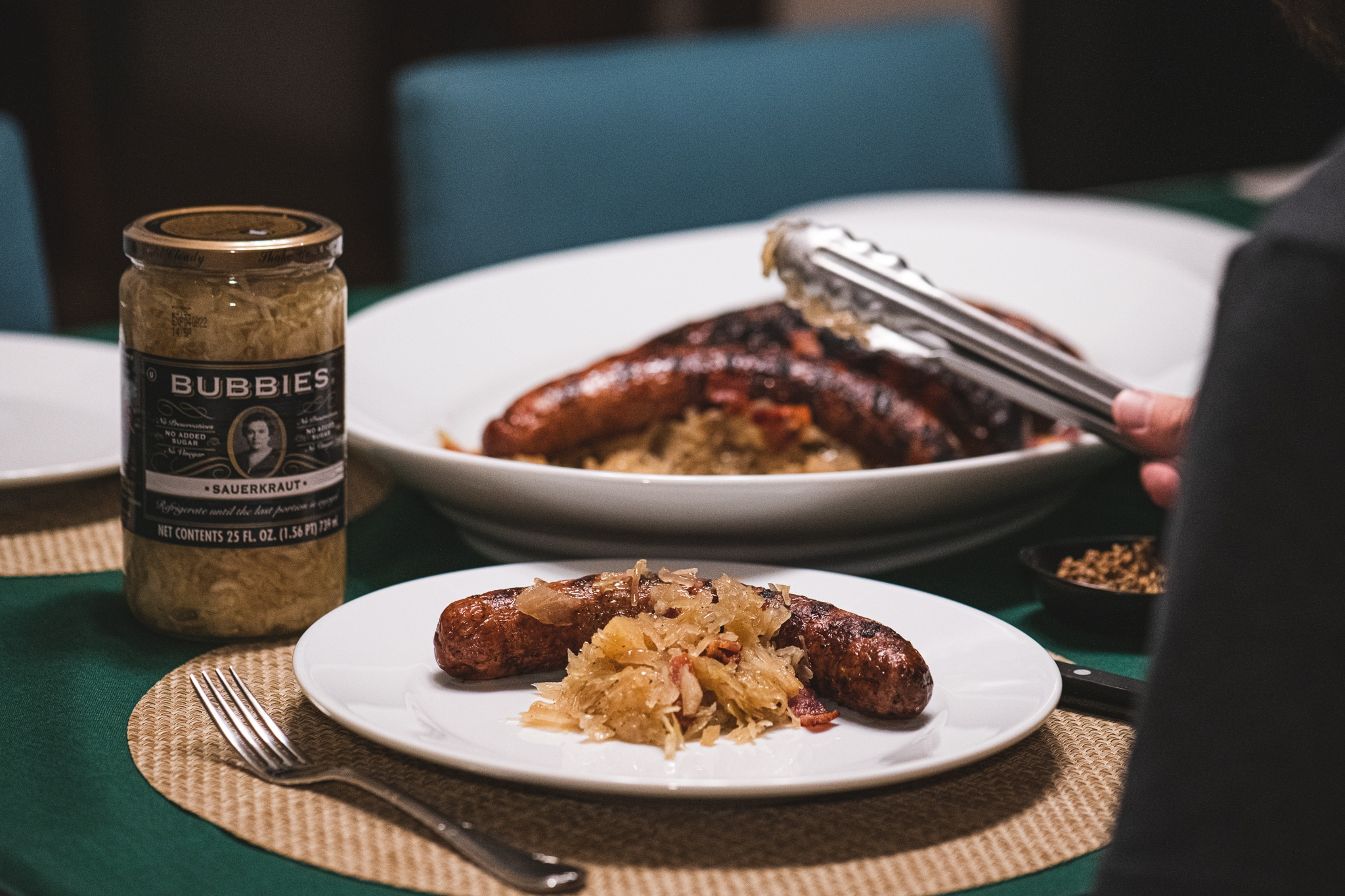 Braised Sauerkraut and Sausage Recipe