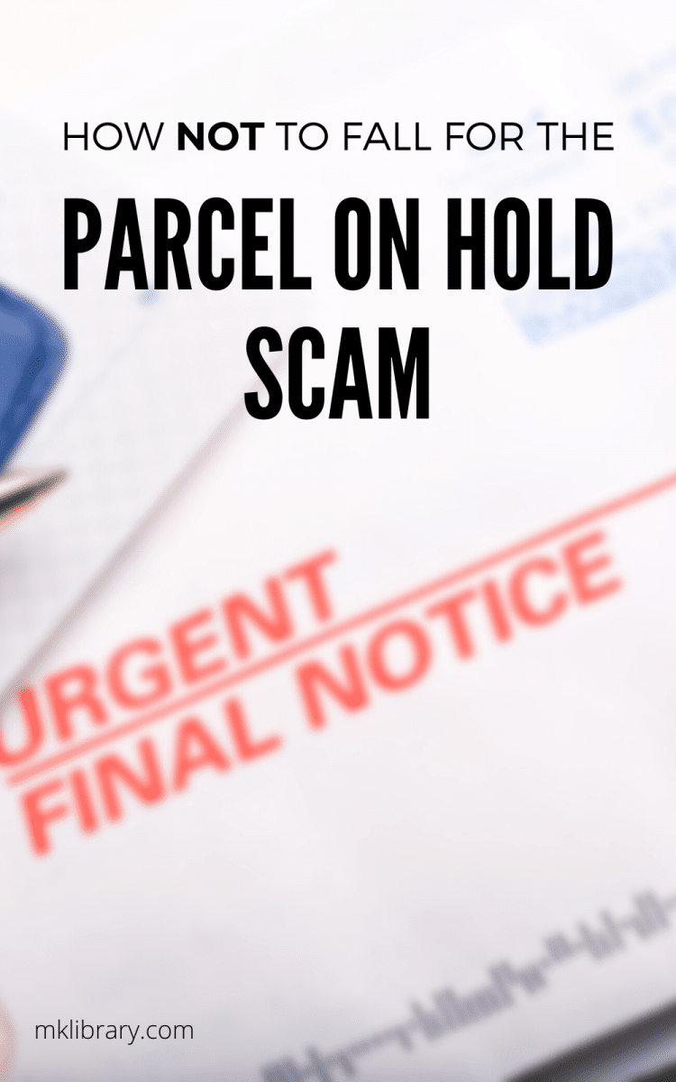 Notice of parcel on hold scam 2 after receiving an official looking postcard in the mail which read notice of parcel and a sense of urgency, my spidey senses went on full alert. Normally, notices from the post office or ups or fedex are placed in a different location - this one went in with the rest of my mail, and was postmarked from 3 days ago. Most likely a scam, but i wanted to learn more, hopefully to help prevent others from falling victim.