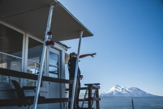 Through the eyes of a fire lookout