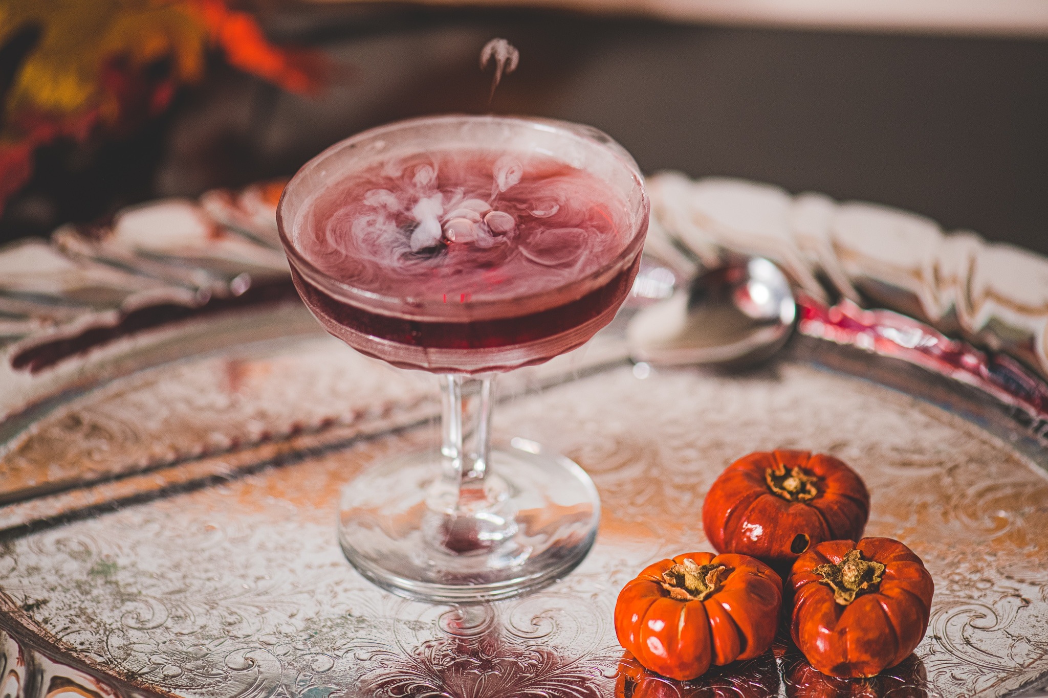 Royal haunt cocktail recipe for halloween
